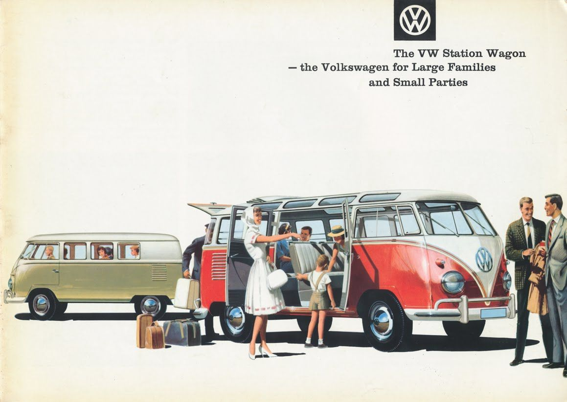 Before It Was The Bus Vw S Type 2 Worked For A Living With
