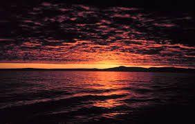 Afbeeldingsresultaat voor sea sunset