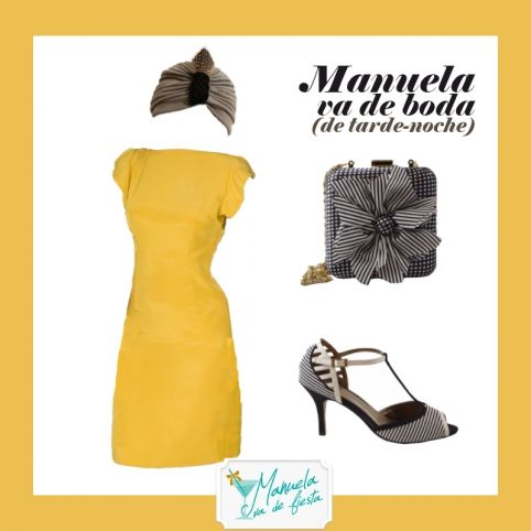 Un vestido / tres looks - Blog Manuela va de fiesta