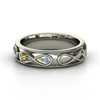 Infinite Love Ring - Nov and March