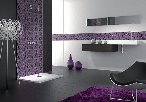 paint bathroom purple accessories beautiful rugs grey white ideas and inspiration gray tiles designing design