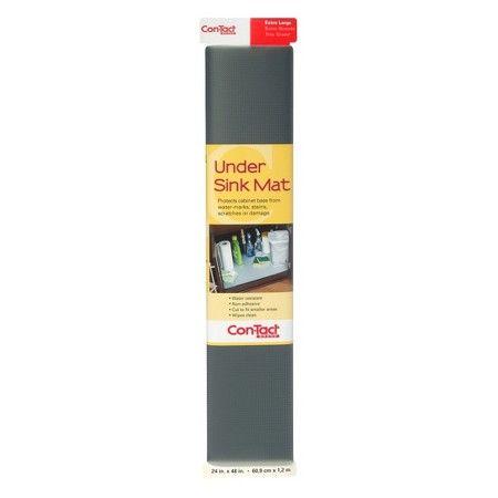 Shelf Liner Contact Under Sink Mat Graphite  Target  Home Classy Kitchen Mats Target Design Decoration
