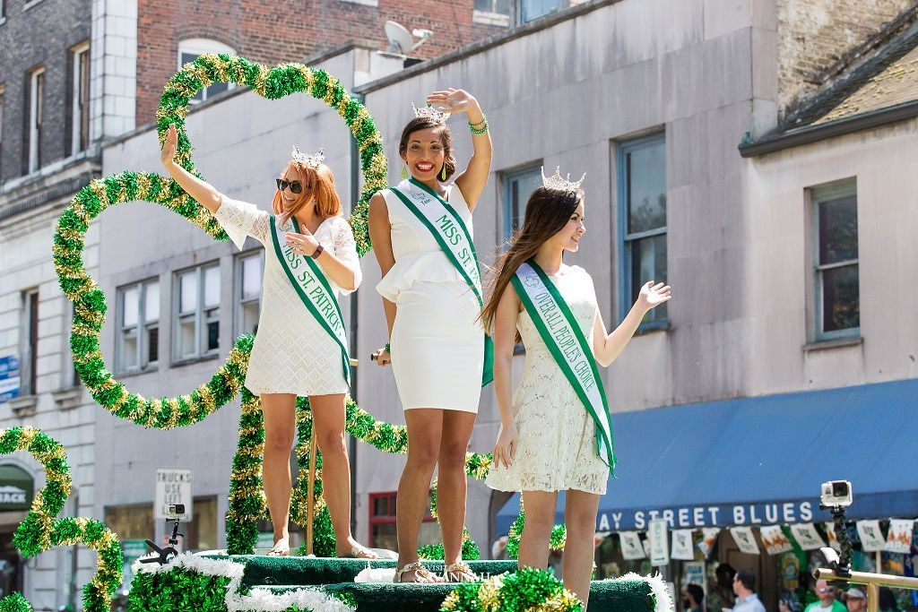 St. Patrick's Day in Savannah is a day packed with music, food, fun, and lots of green.