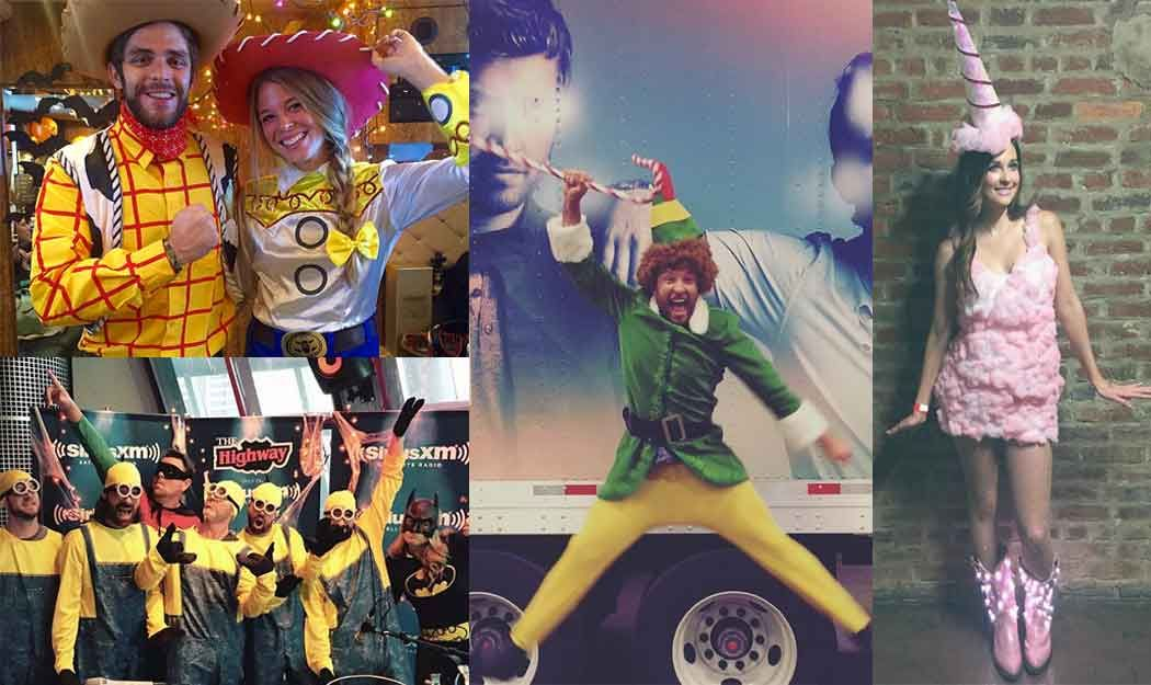 How Your Favorite Country Music Stars Spent Halloween