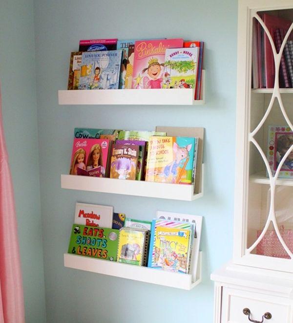 10 Cute Minimalist Bookshelves For Kids Rooms Bookshelves Diy Bookshelves Kids Kids Room Bookshelves