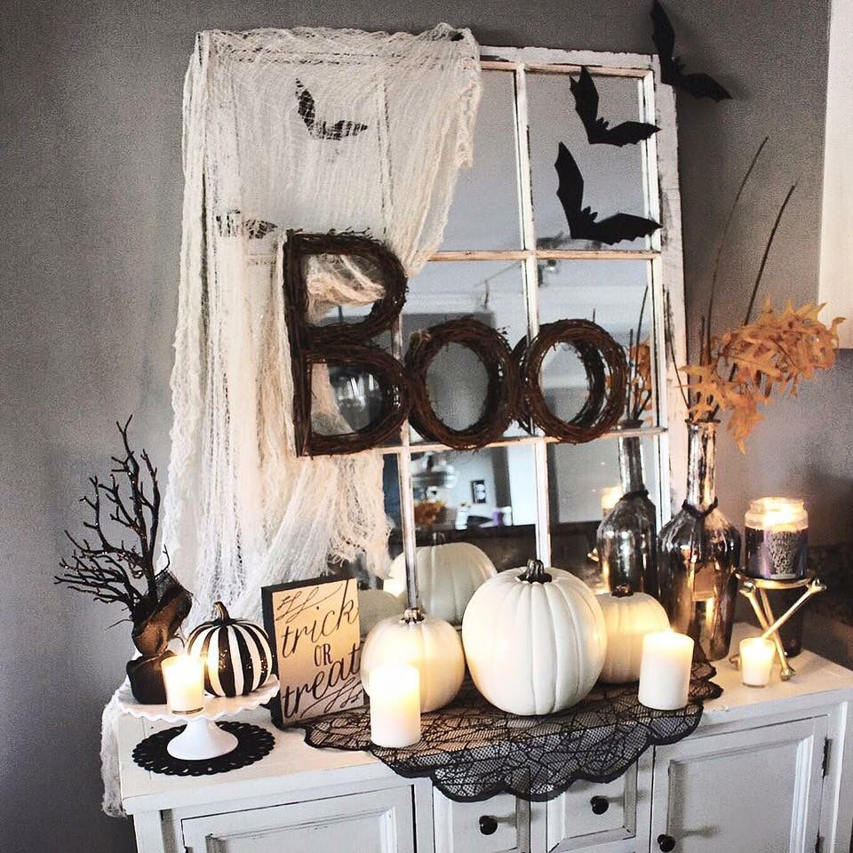 The Glam Farmhouse Blog Halloween Fall Decor