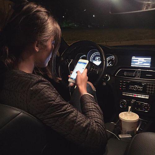Driving Luxury Car: Идеи для фото, Ночная фотография
