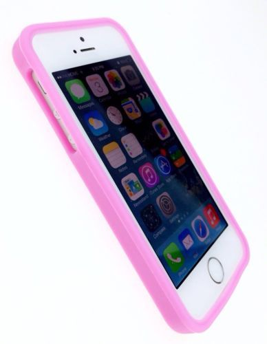 detailing 73bf2 0317d For iPhone 5/5S Soft Silicone Skin Case Cover Pink Es/27 | eBay ...