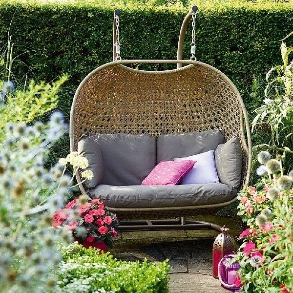 Bramblecrest Frampton Double Hanging Cocoon Seat   Pinterest