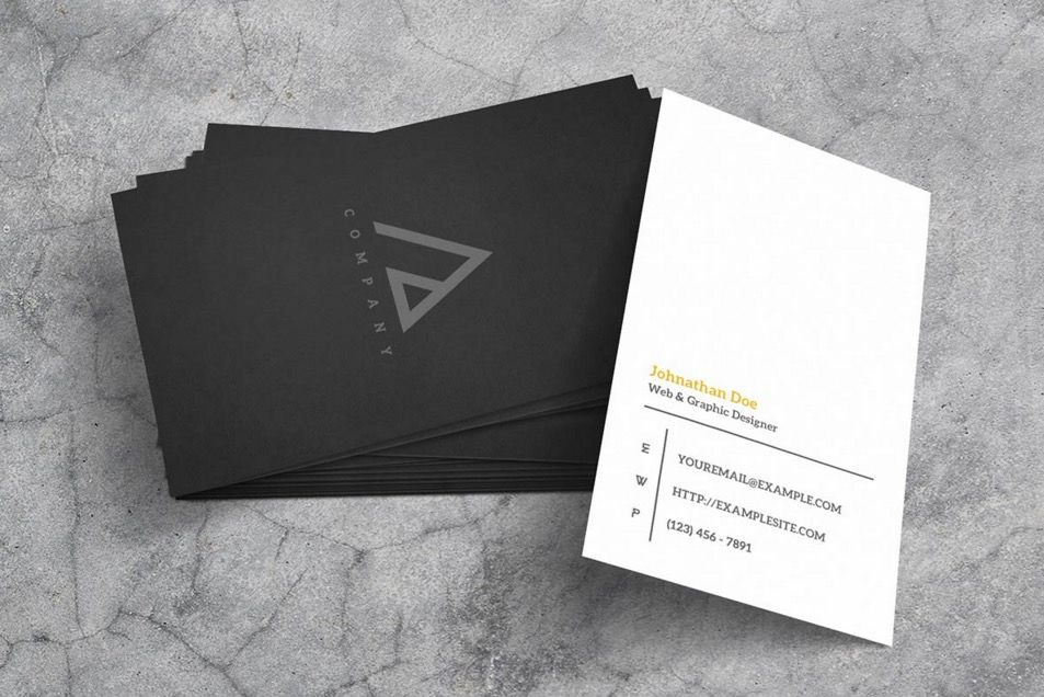 21 free hi res business card mockups - Business Card Mockups