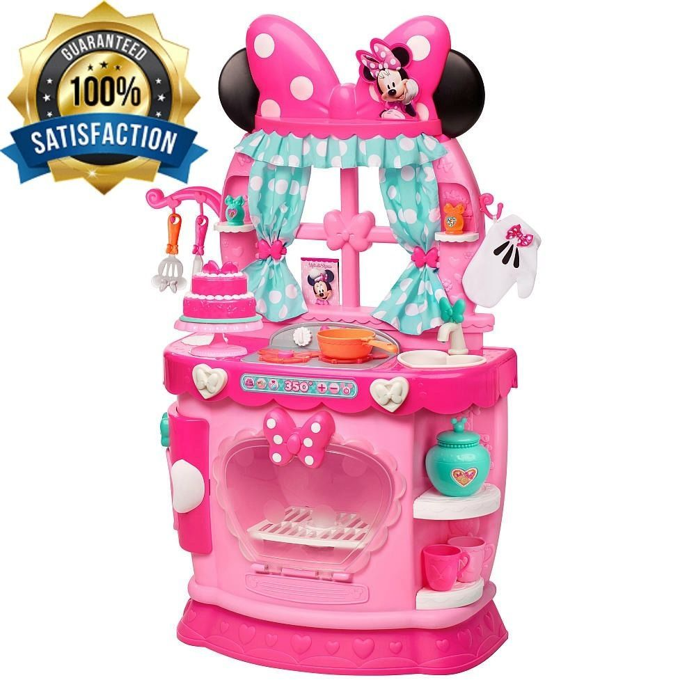 Minnie Mouse Kitchen Cooking Games For Kids Playsets For Toddlers