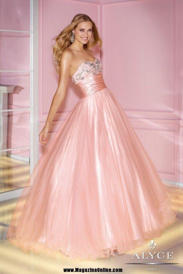 17 Best Prom Dresses By Alyce Paris For 2014   Vestidos   Pinterest ...