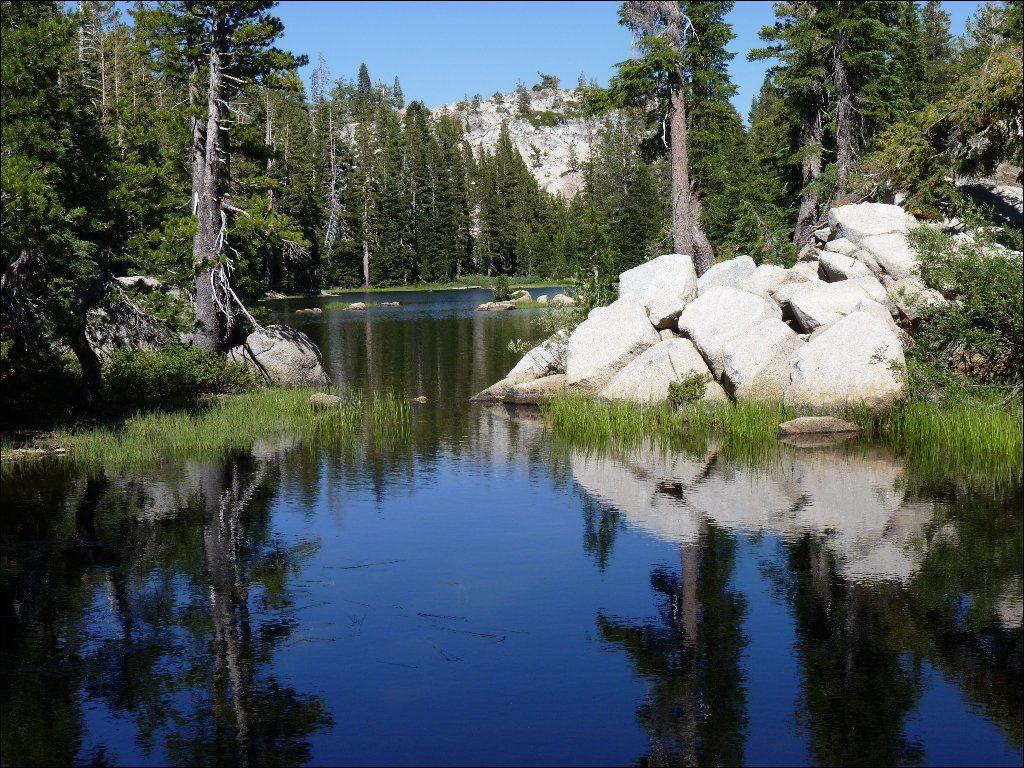 Heiser Lake - Carson-Iceberg Wilderness, Stanislaus and