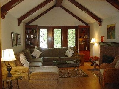 Decorating A Tudor Style Home Tudor Style Homes Family Room Remodel Tudor Decor