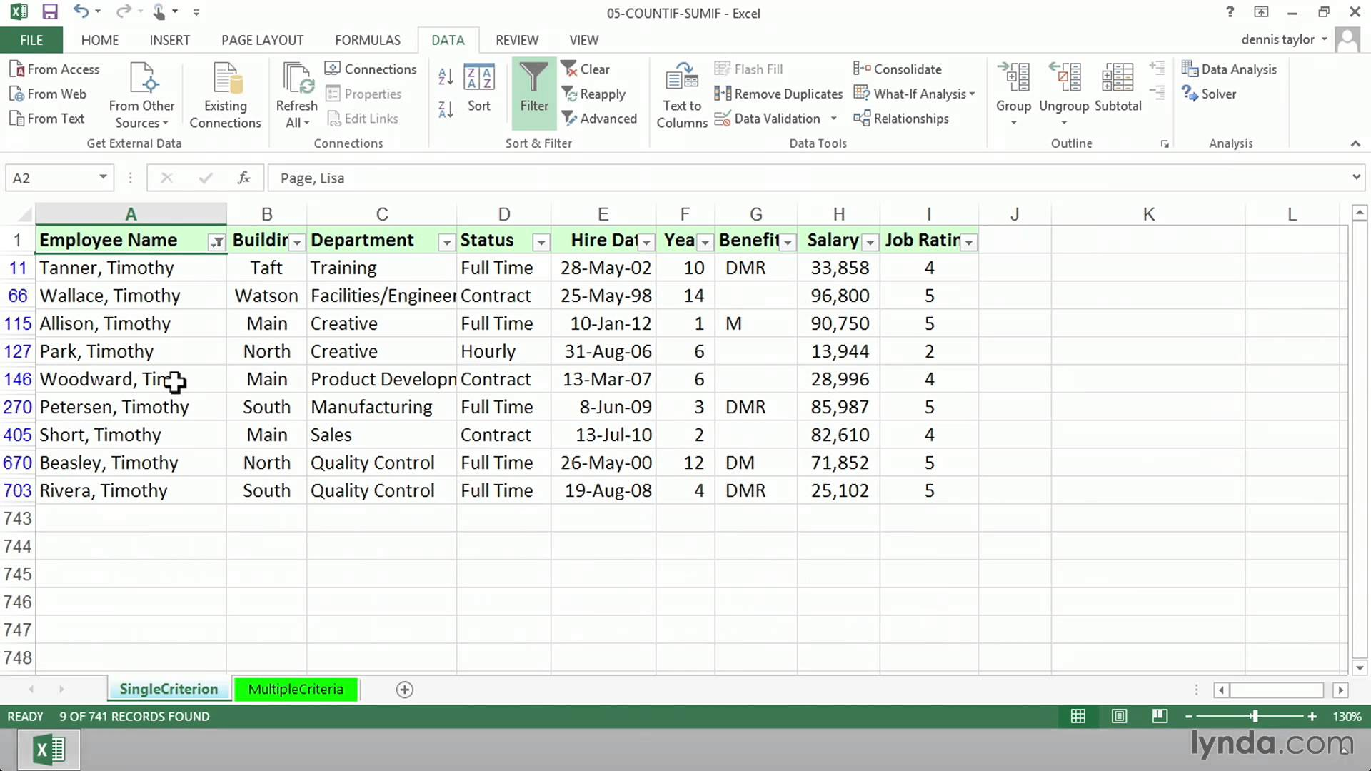 Excel Formula Tutorial How To Use Countif Sumif Or