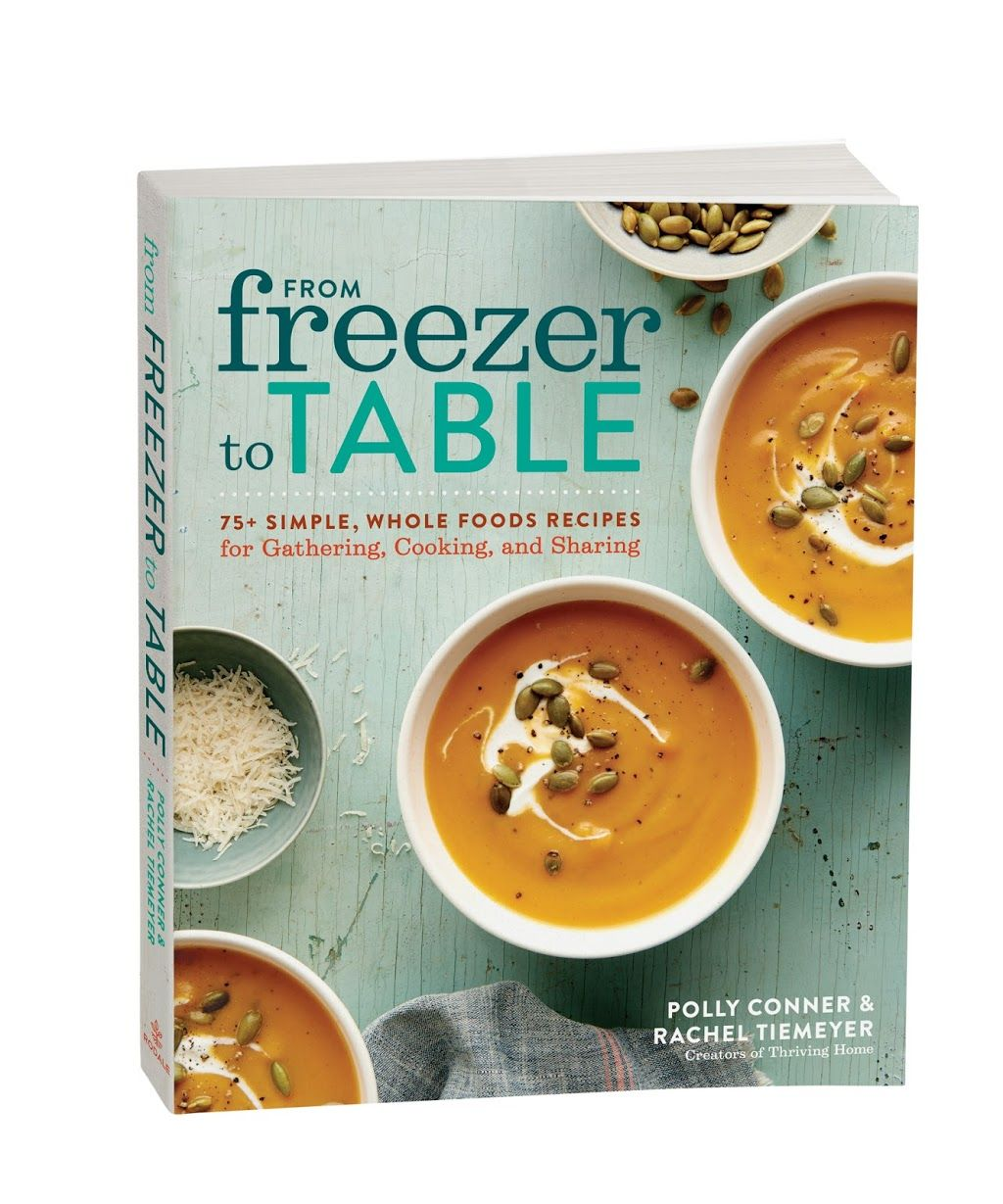 In From Freezer To Table Rachel And Polly Share The