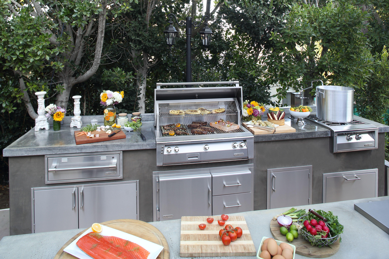 Alfresco Barbecue Grill Kitchen Alfresco Outdoor Kitchen