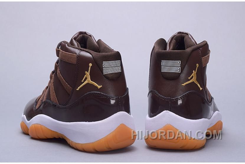 check out 41e75 ab0a0 Air Jordan 11 Hamilton Chocolate Gum Top Deals 3iZTkk