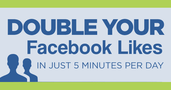 Double Your Facebook Likes in 5 Minutes a Day