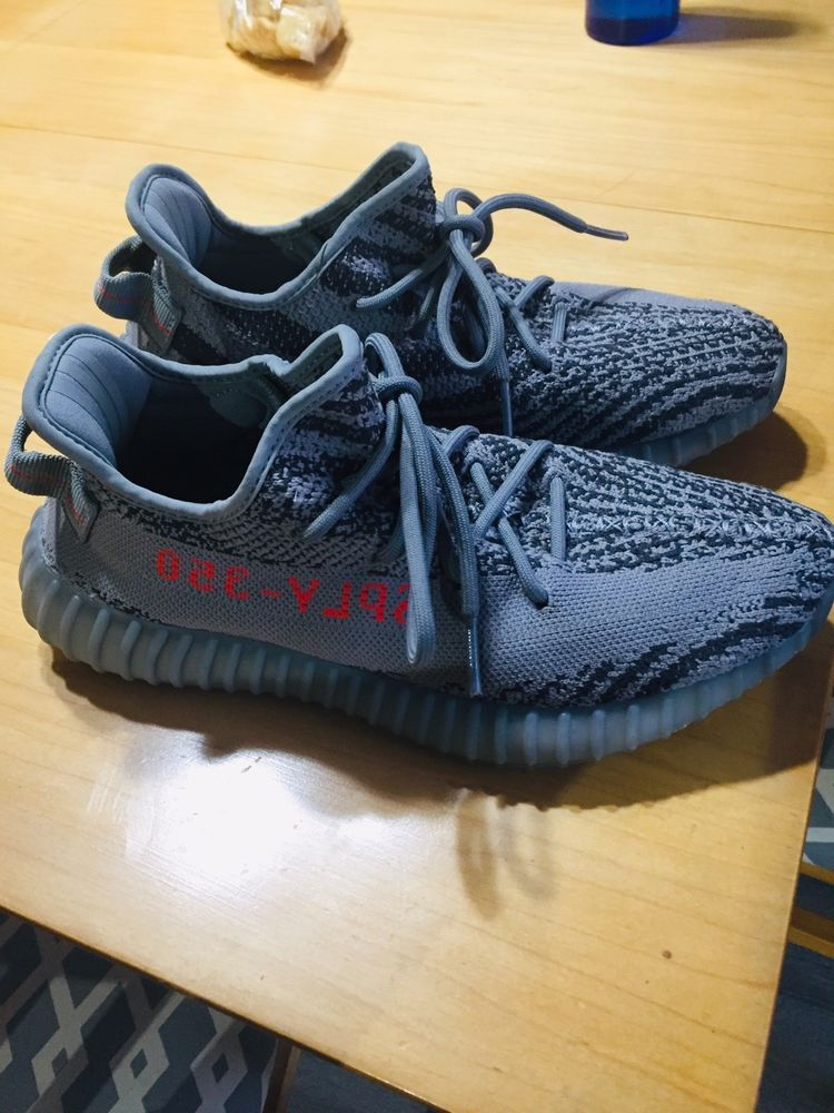 ee7d5d0ef8b Adidas Men s Yeezy Boost 350 V2 Beluga Shoes Size 8 US Gray  fashion   clothing  shoes  accessories  mensshoes  athleticshoes (ebay link)