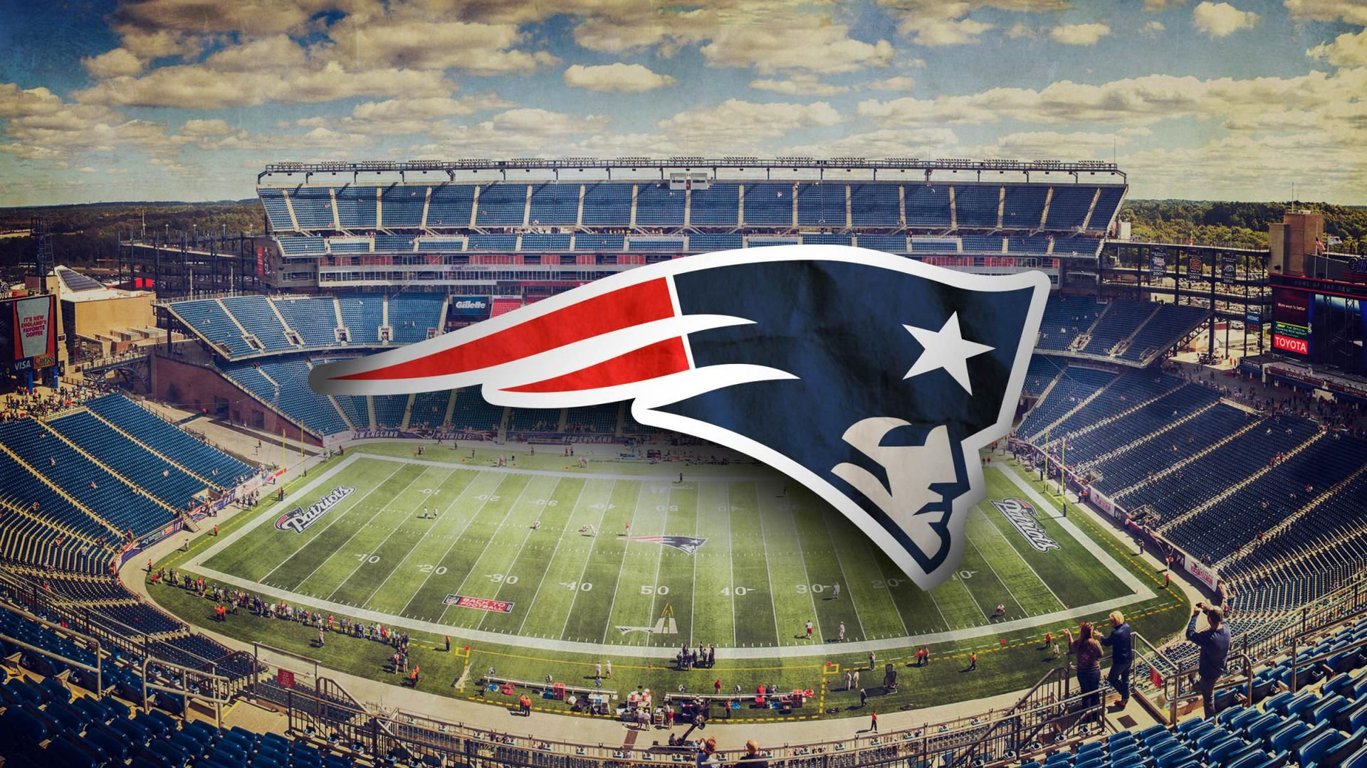New England Patriots Full Hd Background 1920x1080 New England Patriots Wallpaper New England Patriots Flag New England Patriots