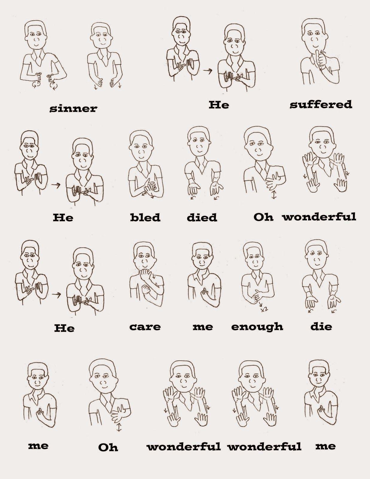 I Stand All Amazed Sign Language