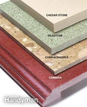 Ing Countertops Plastic Laminates Granite And Solid Surfaces The Family Handyman