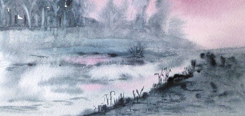 La Technique D Aquarelle L Eau De Javel Technique Aquarelle