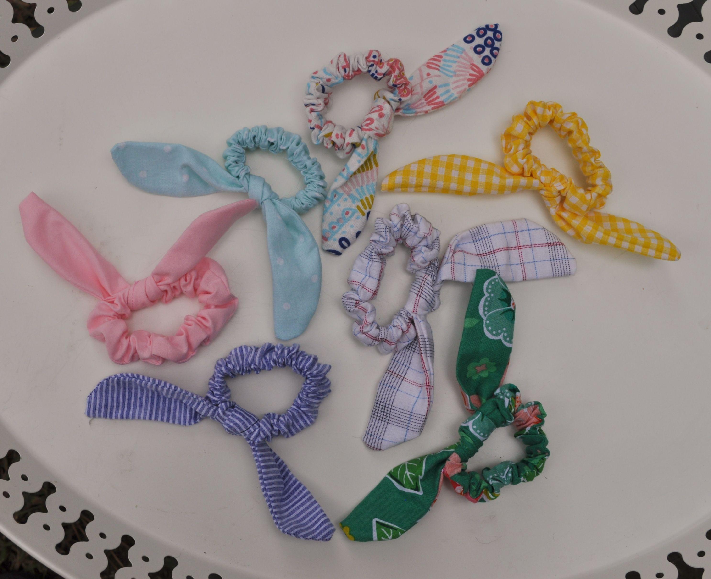bow scrunchie #scrunchiesdiy