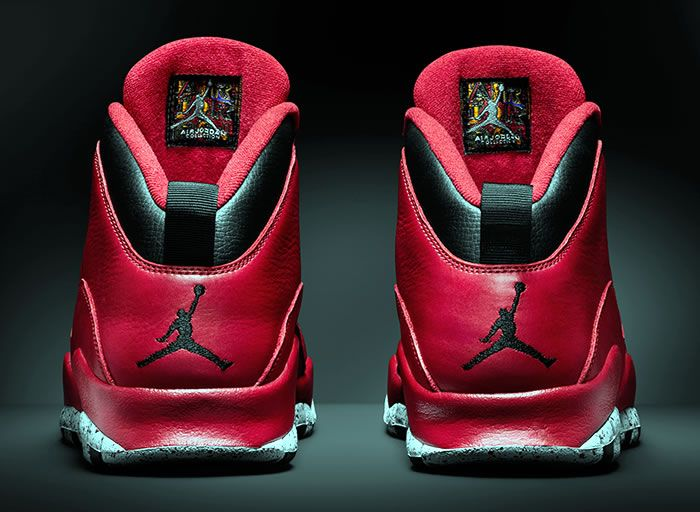 jordan 10 red cement 2015 remastered 4 Air Jordan 10 Red Cement Remastered  for 2015