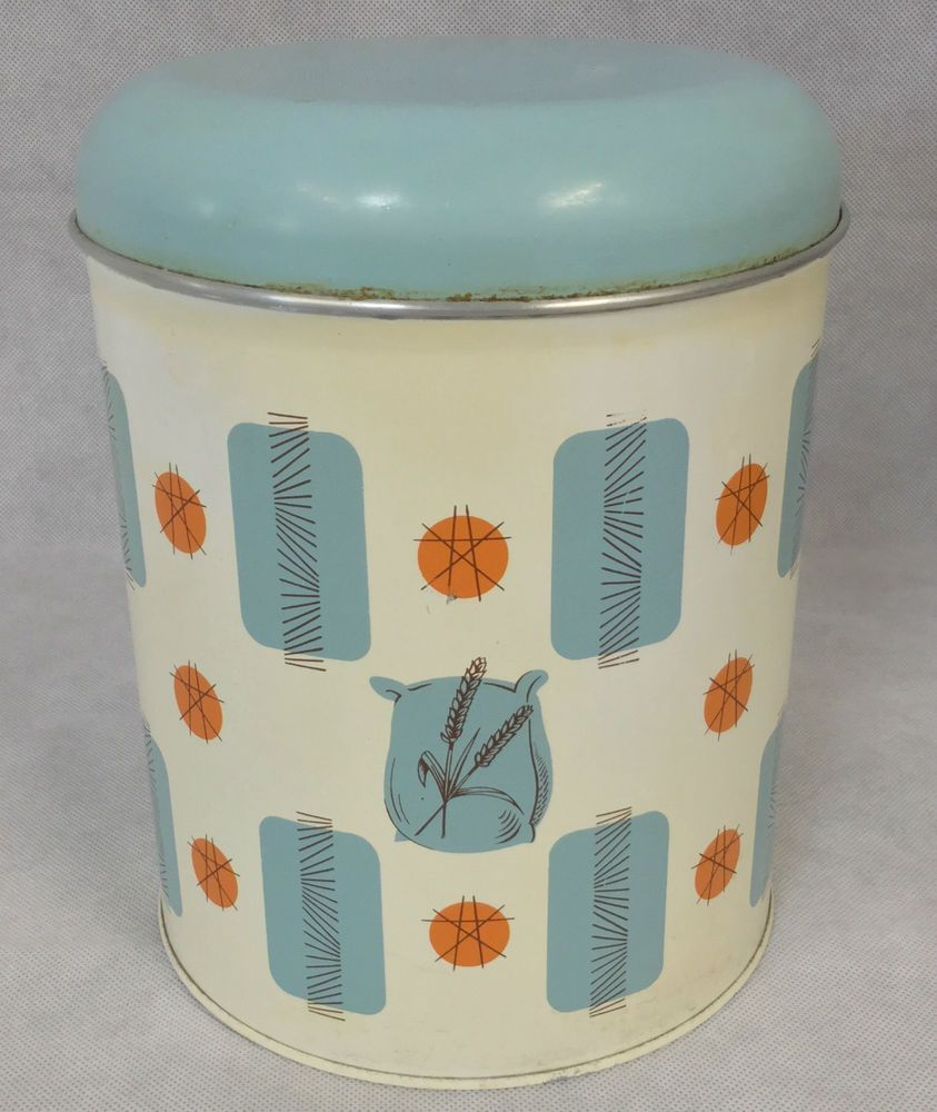 Pin by Haizi Daizi on Vintage Kitchen Storage Cannisters | Pinterest ...