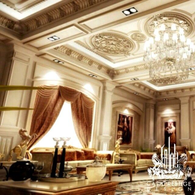 Reception Room Luxury Homes Classic Interior Architecture Design