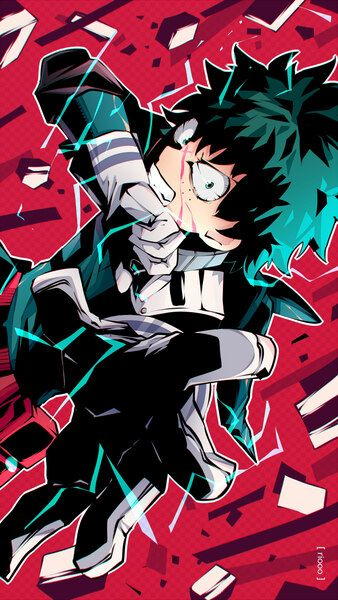Izuku Midoriya One For All Full Cowling My Hero Academia 4k Hd Mobile Smartphone And Pc Desktop Laptop Wall My Hero My Hero Academia Episodes Hero Wallpaper