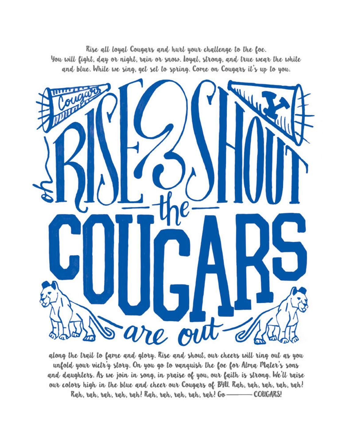 byu cougar fight song download