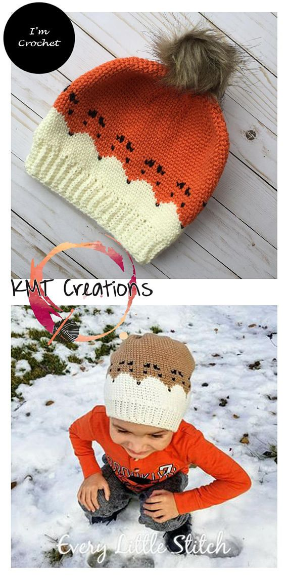 The Reynard Hat Crochet Pattern- sizes: Toddler, Child, Teen/Sm Adult and Large Adult