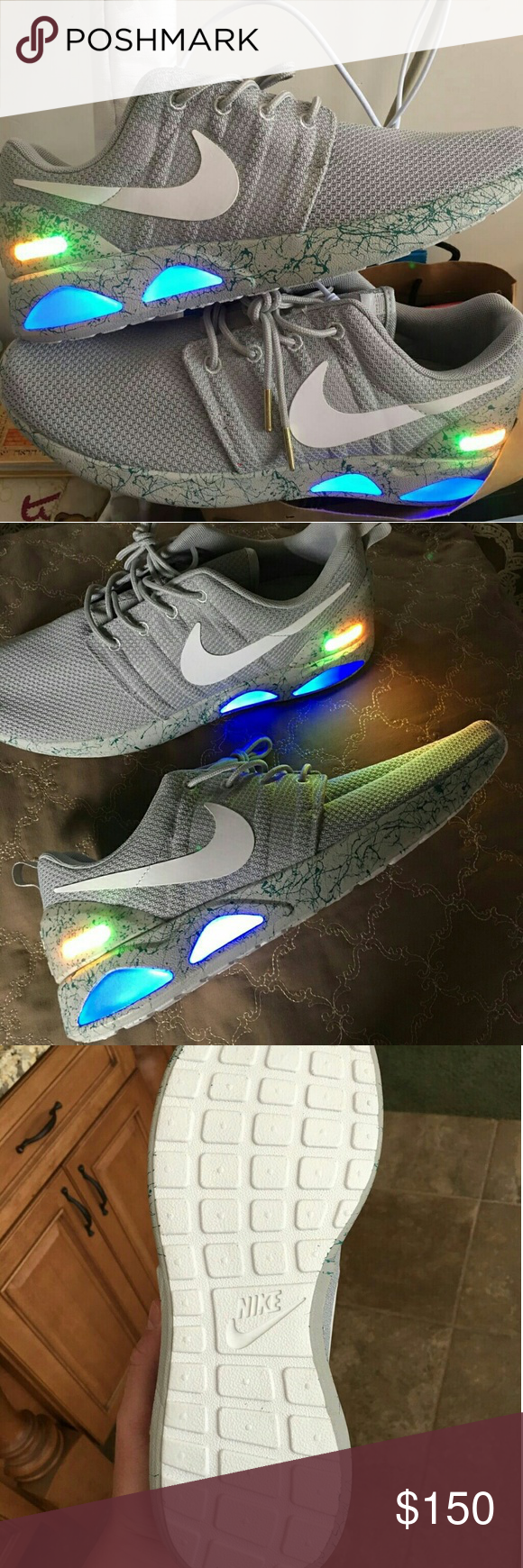 3b3c6eb27fa Nike Roshe x Mag size 10 Nike Roshe x Air Mag Custom best price Nike Shoes  Sneakers