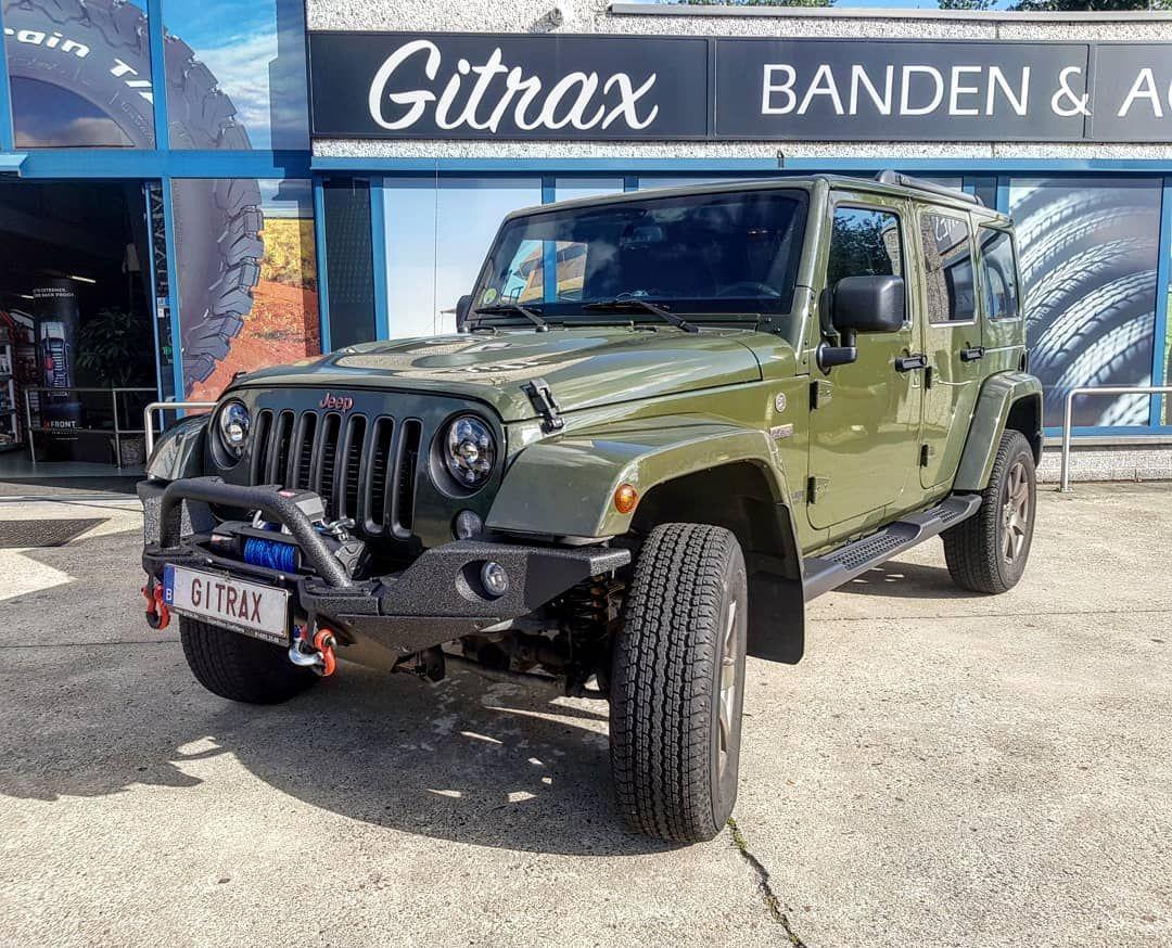 Jeep Wrangler Uitgerust Met Smittybilt Bumper More4x4 Winch