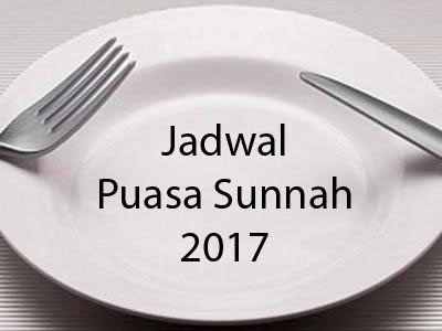 Jadwal Kalender Puasa Sunnah Tahun 2017 | puasa | Pinterest