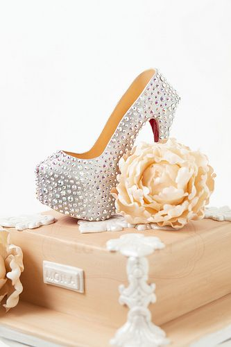 All sizes | Christian Louboutin Daffodile Pump Shoe Cake | Flickr - Photo Sharing!