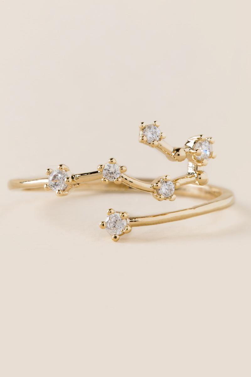 a40d7c94a4 Gemini Zodiac Ring - Francesca's | Jewelry | Constellation ring ...