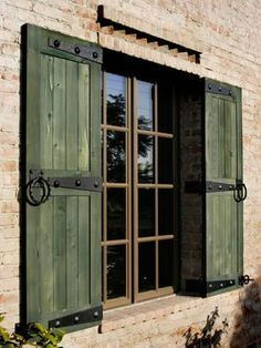 Shutters That Are Tacked On The The Siding Without Regard To The Size Of  The Window And Without Shutter Hardware Detract From An Historic ...