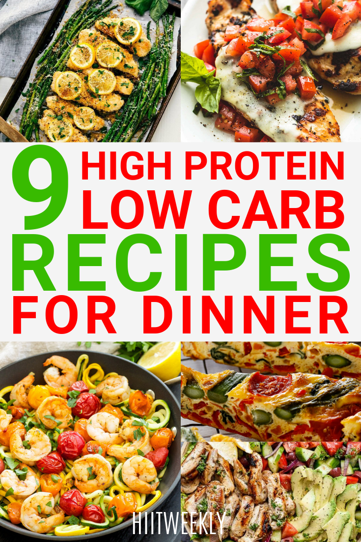 Pin on high protein low carb