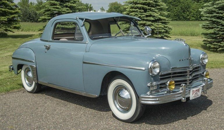 1949 Plymouth Deluxe Business Coupe | Plymouth cars ...