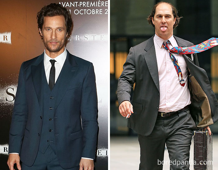 43 Actors Who Underwent Dramatic Transformations For A Role Matthew Mcconaughey Actors Mathew Mcconaughy