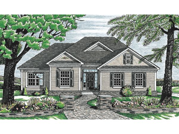 Jakarta Ranch Home House Plans Traditional House Plans Ranch House