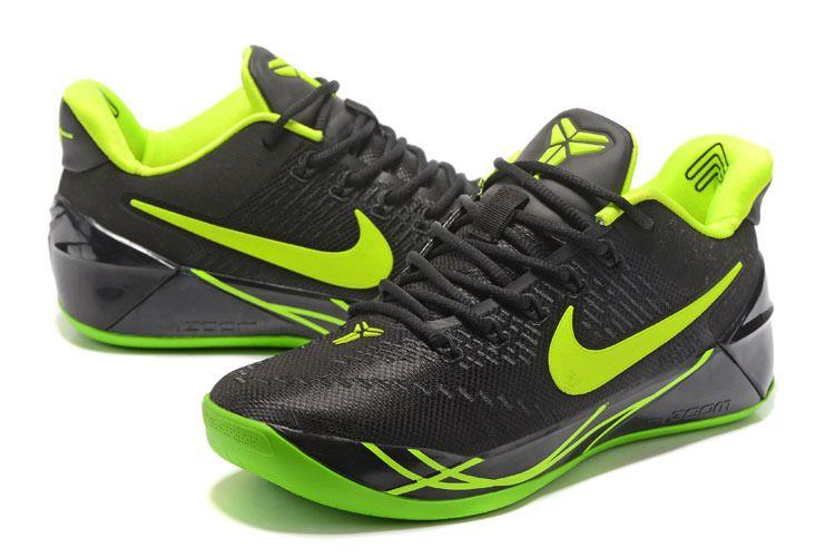 Nike Kobe AD Oregon Ducks PE Black Lime Green Poison Green