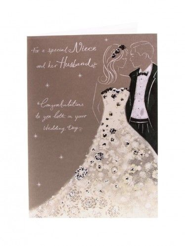 Niece And Husband Wedding Day Congratulations Card Wedding Cards Money Wallets Wedding Congratulations Card Birthday Cards For Mum Anniversary Cards