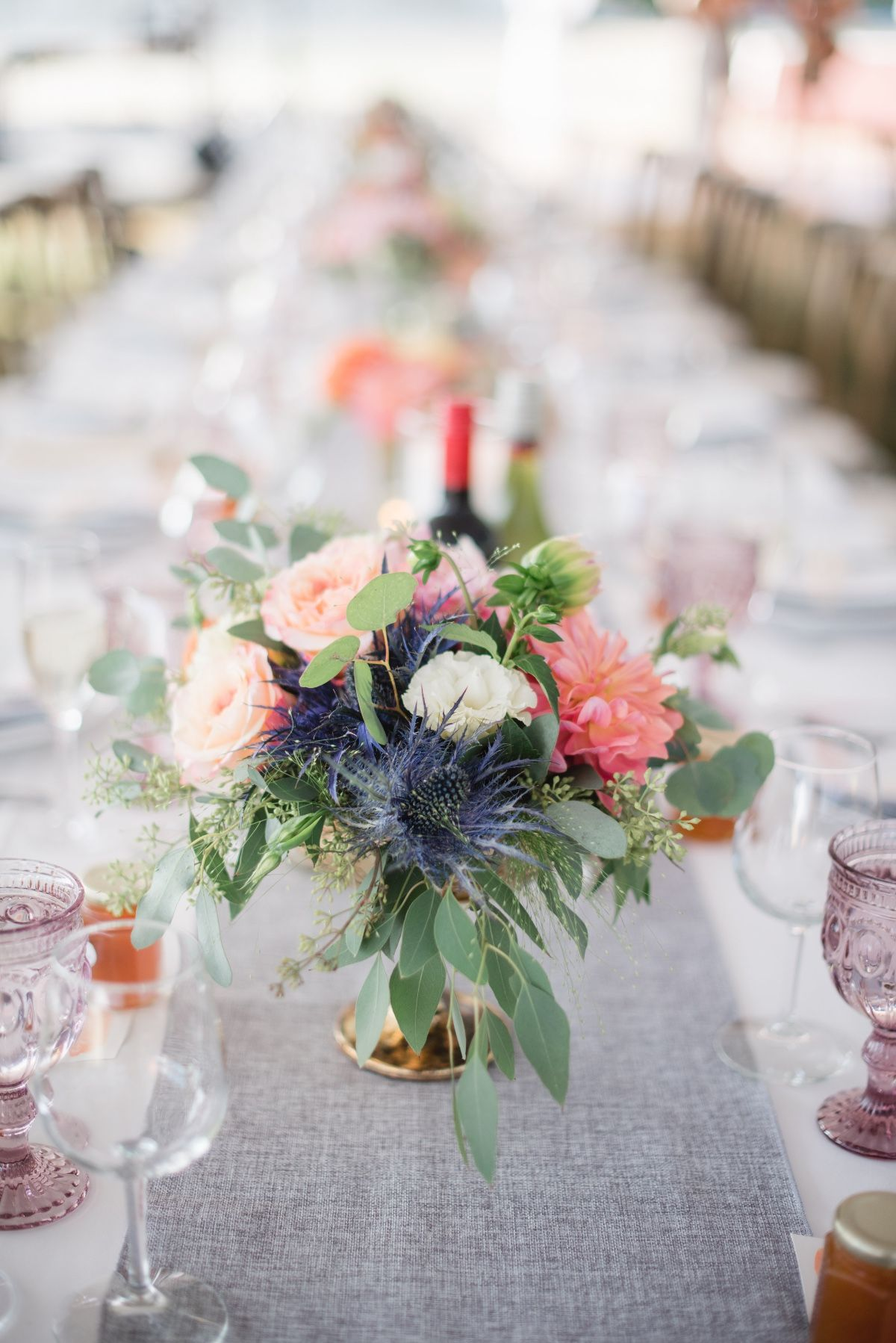 Magnificent Bright Farm To Table Summer Boho Wedding Weddings Flower Download Free Architecture Designs Grimeyleaguecom