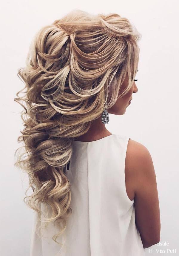bröllopsfrisyrer långt hår