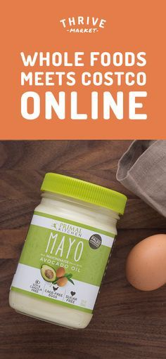 Members save 25-50% off premium, organic foods and healthy products and get FREE delivery to their door! Thrive Market is making healthy living easy and affordable for everyone. Get your FREE jar of avocado oil mayo today while supplies last. Join today, and see how much you can save!